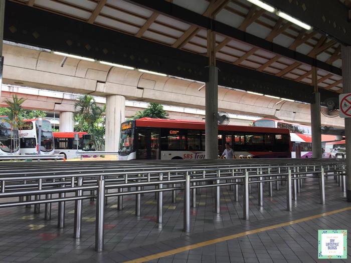นั่งรถเมล์ สิงคโปร์